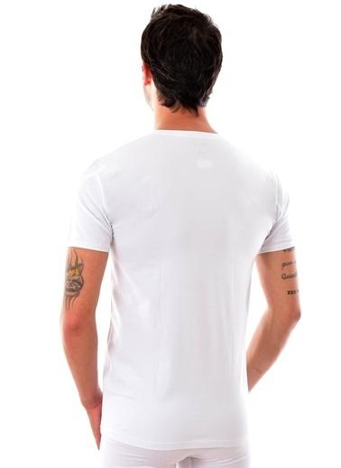 Tutku 3 Adet Elit 1003  Erkek Modal Elasthan Fanila SİYAH Beyaz